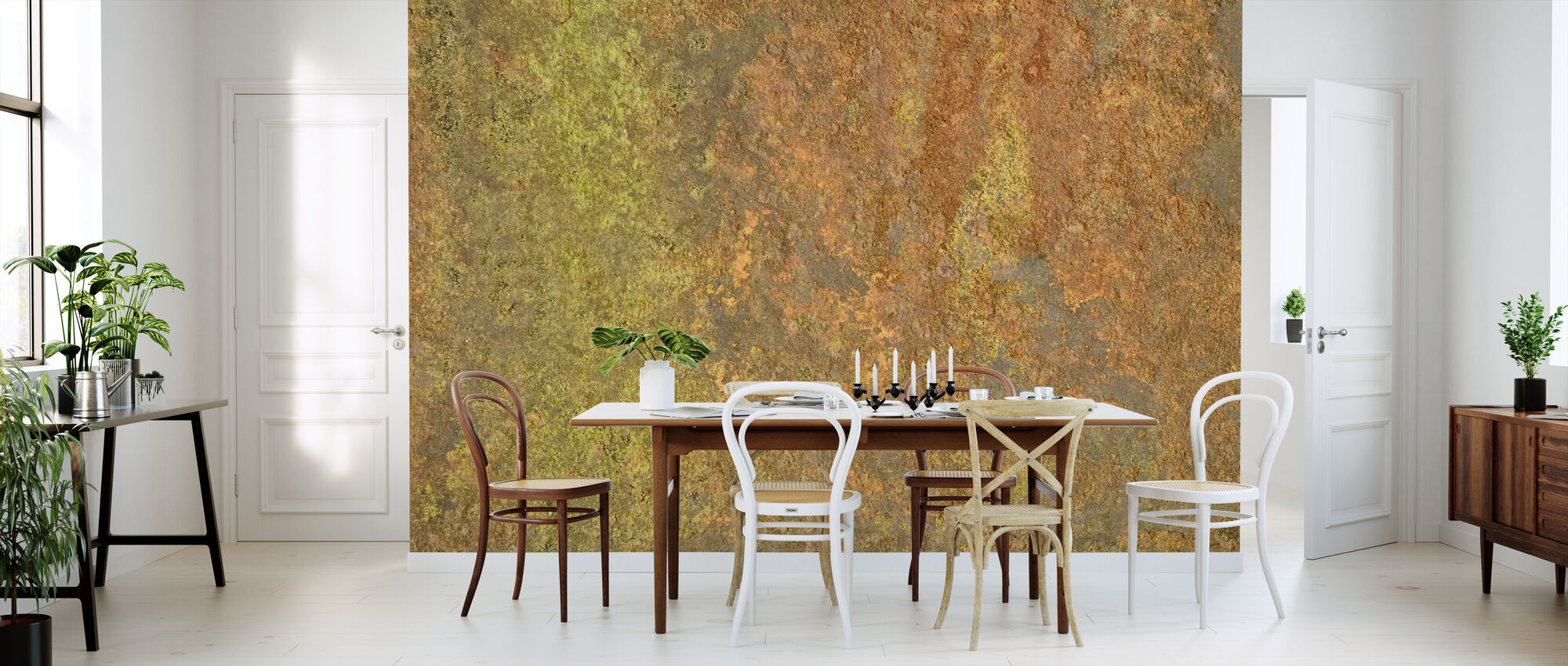 Metal Oxidation - Wallpaper - Kitchen