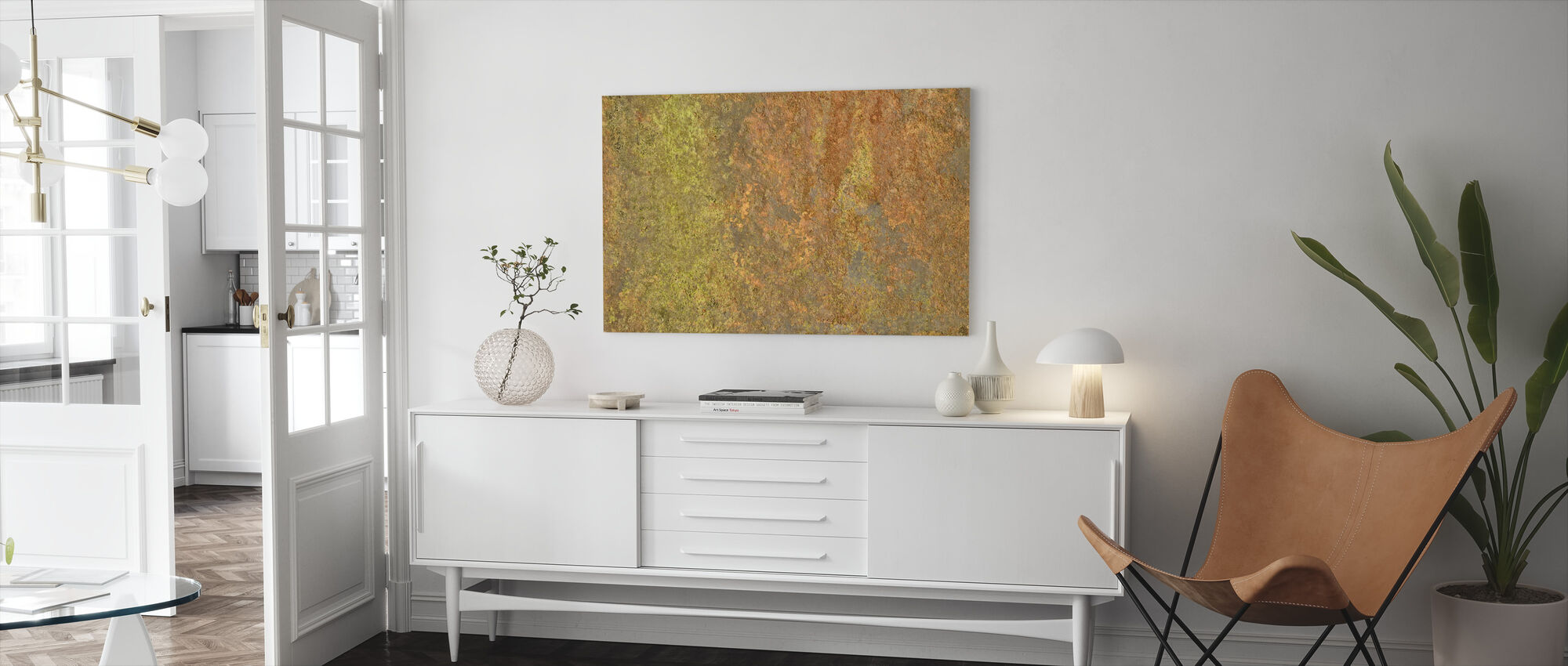 Metal Oxidation - Canvas print - Living Room