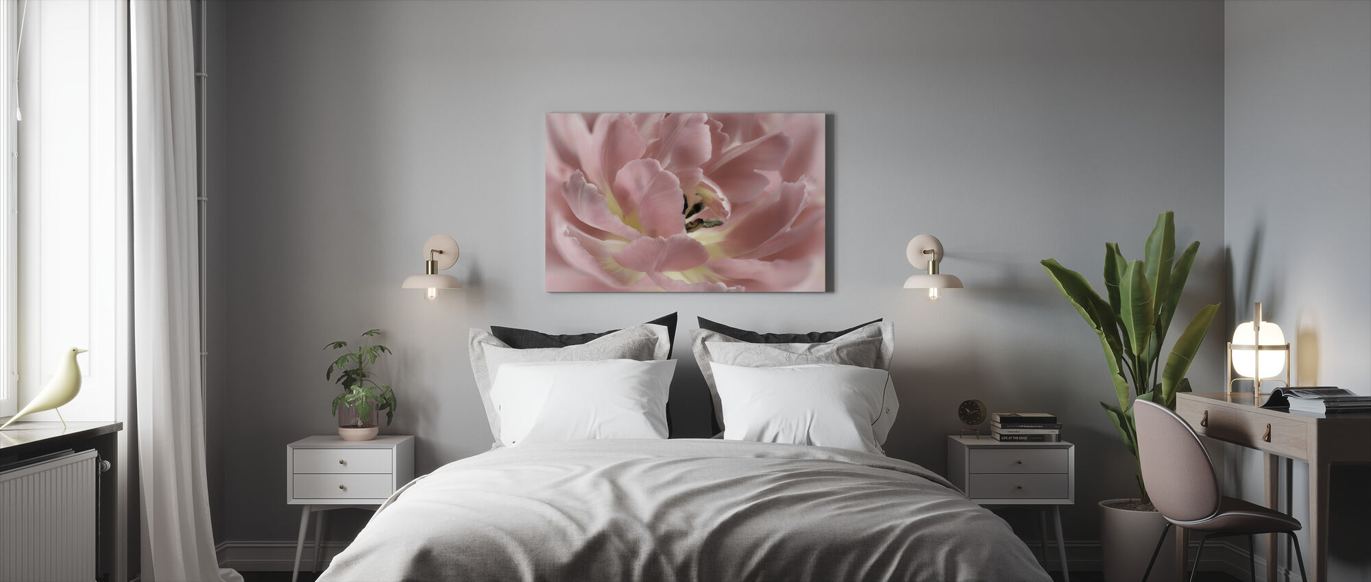 Tulip Cake - Canvas print - Bedroom