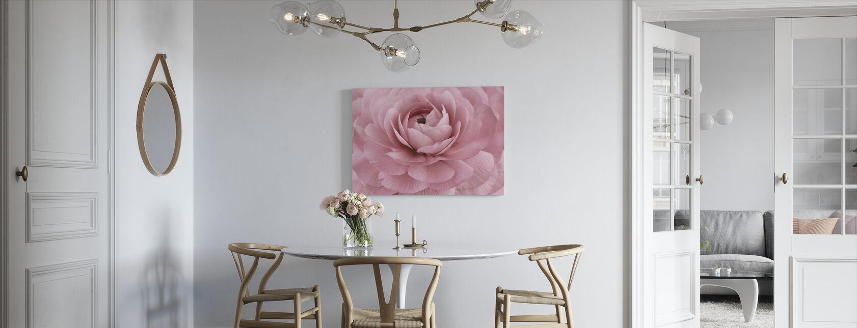 Pink Buttercup - Canvas print - Kitchen