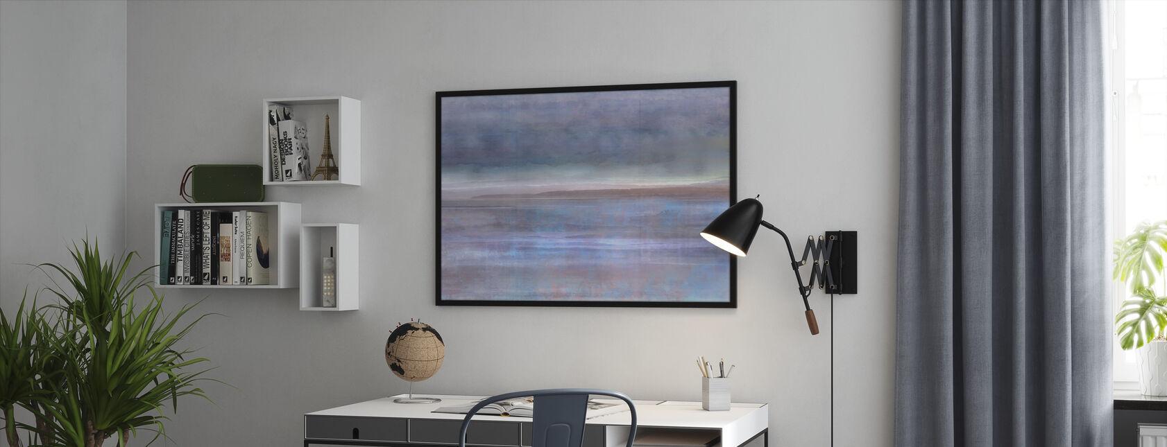Płaskie pływów - Obraz w ramie - Biuro