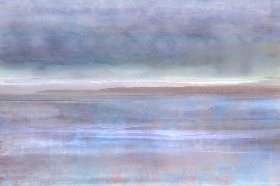 Tidal Flat Fototapeter & Tapeter 100 x 100 cm