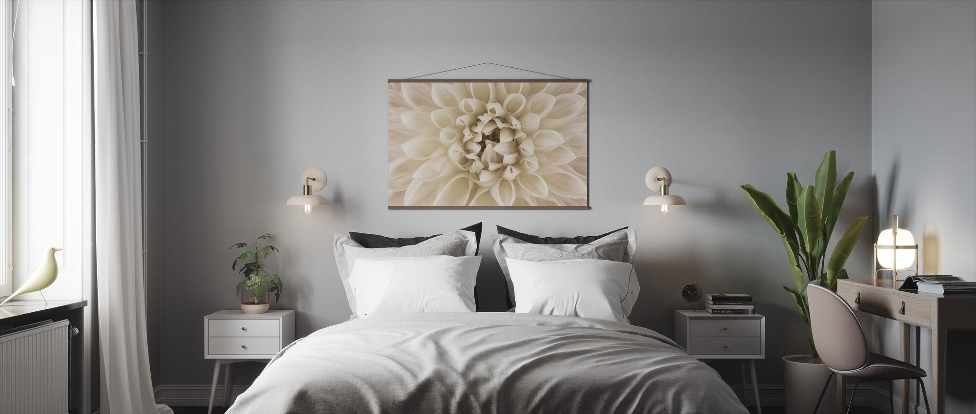 White Dahlia - Poster - Bedroom