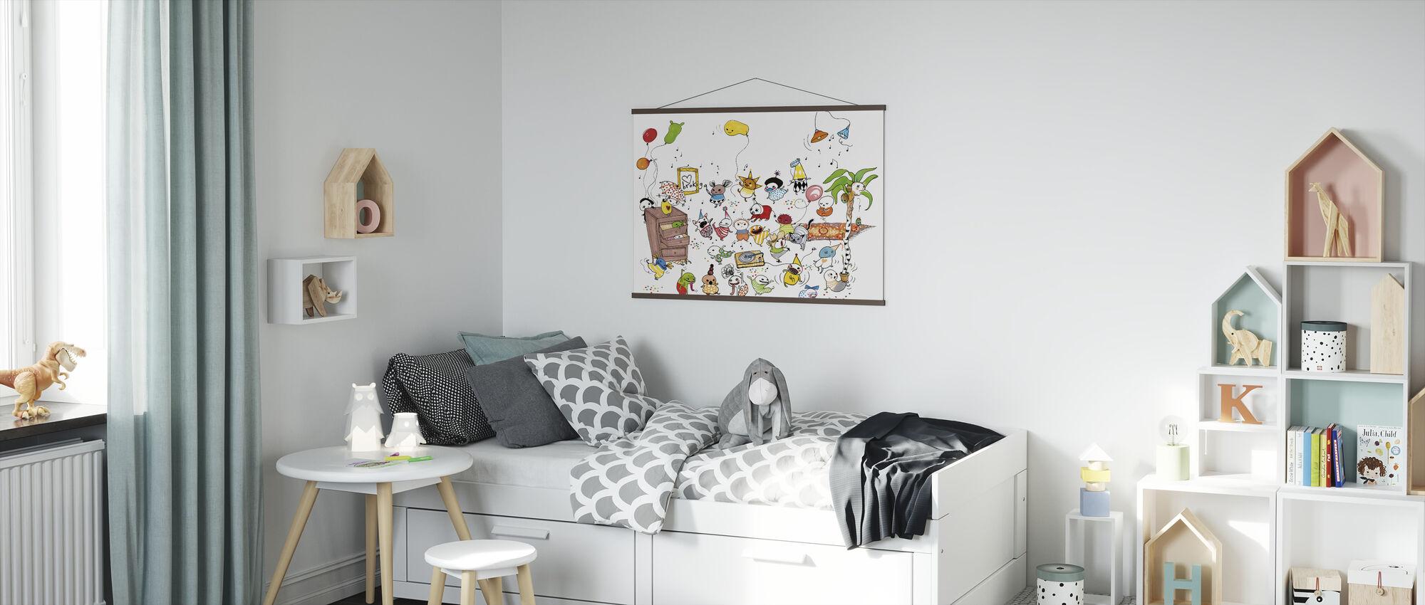 Fest - Poster - Kinderkamer