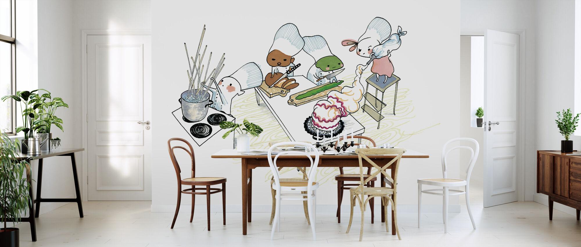 Kitchen - Wallpaper - Kitchen
