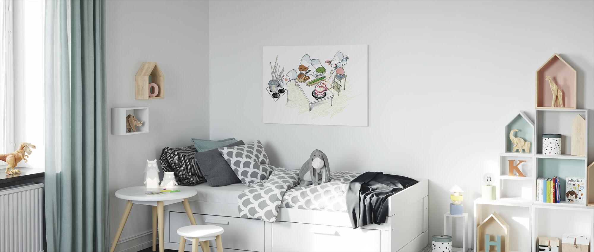 Kitchen - Canvas print - Kids Room