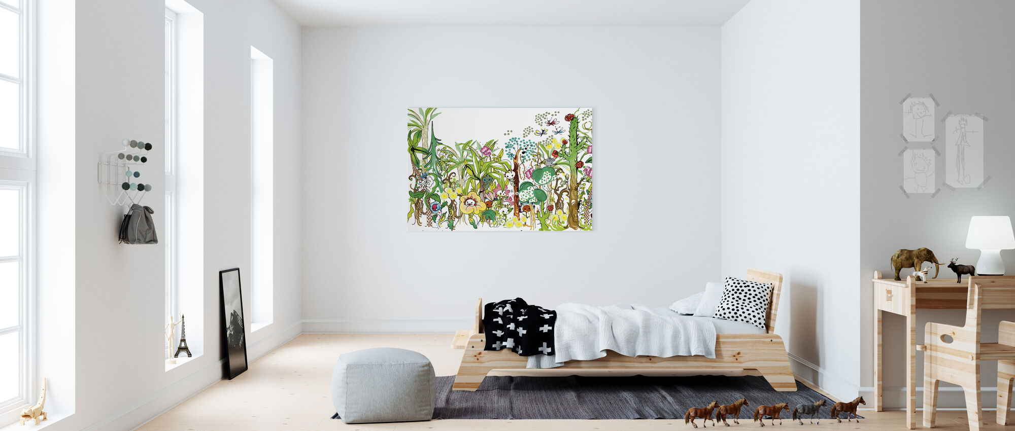Forest - Canvas print - Kids Room
