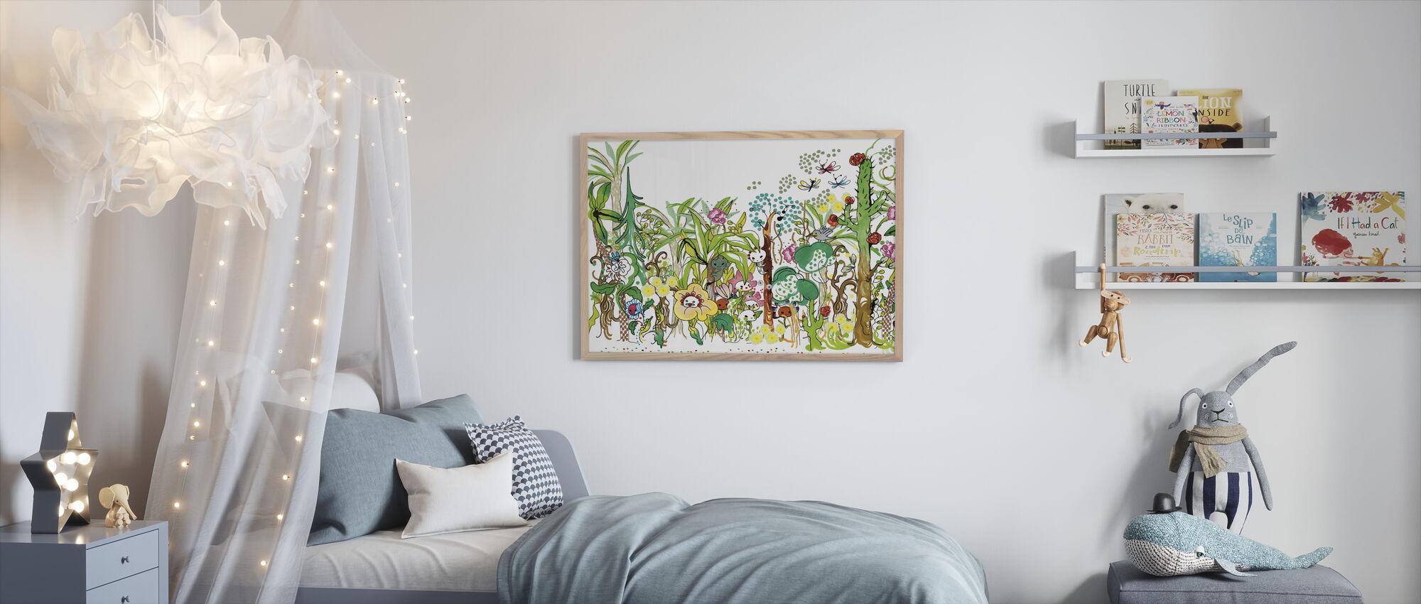 Forest - Framed print - Kids Room