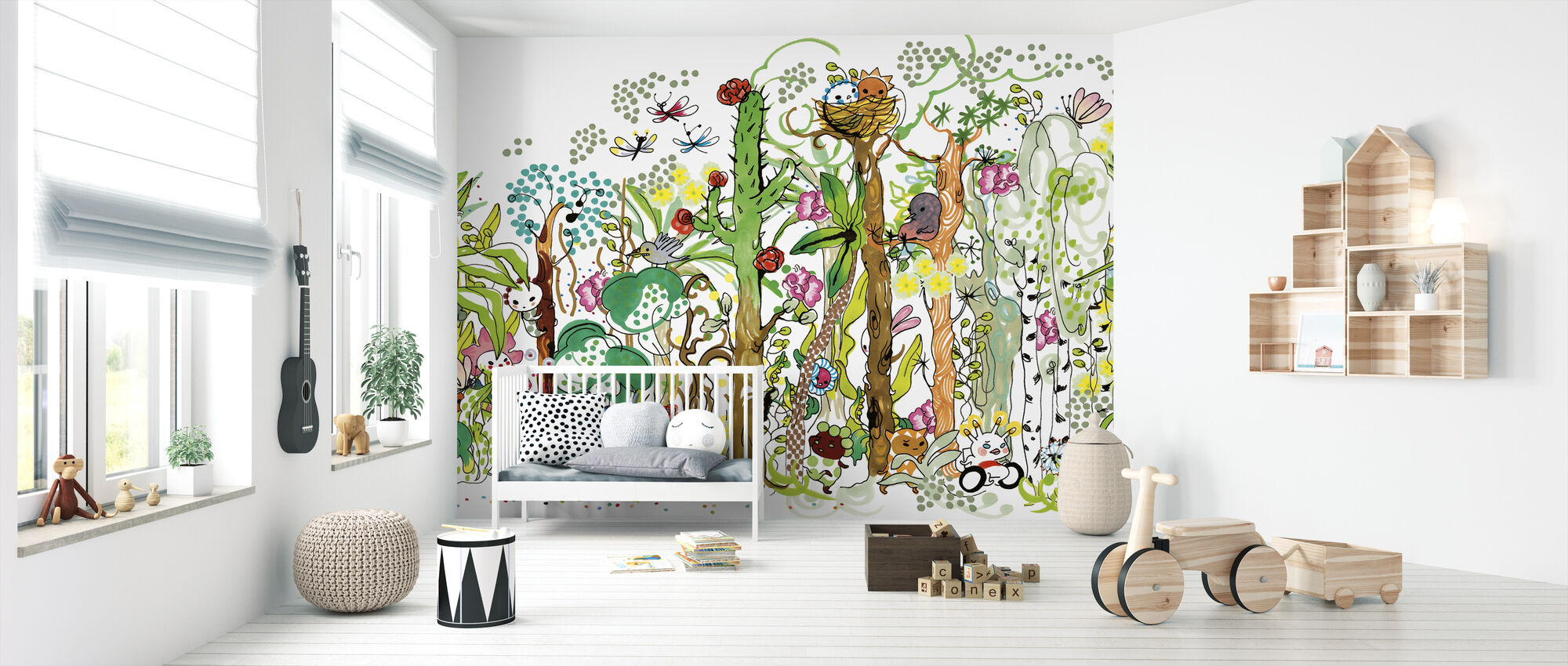 Forest XL - Wallpaper - Nursery
