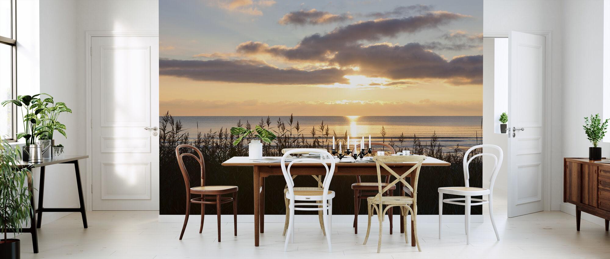 Gress og Solnedgang - Gotland - Tapet - Kjøkken