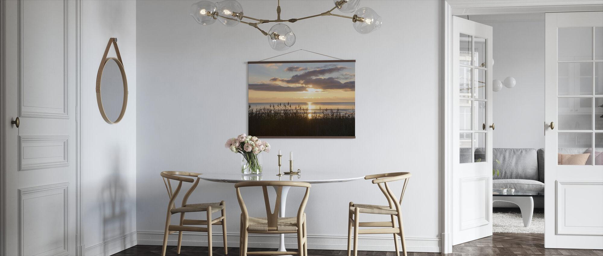 Gräs och solnedgång - Gotland - Poster - Kök
