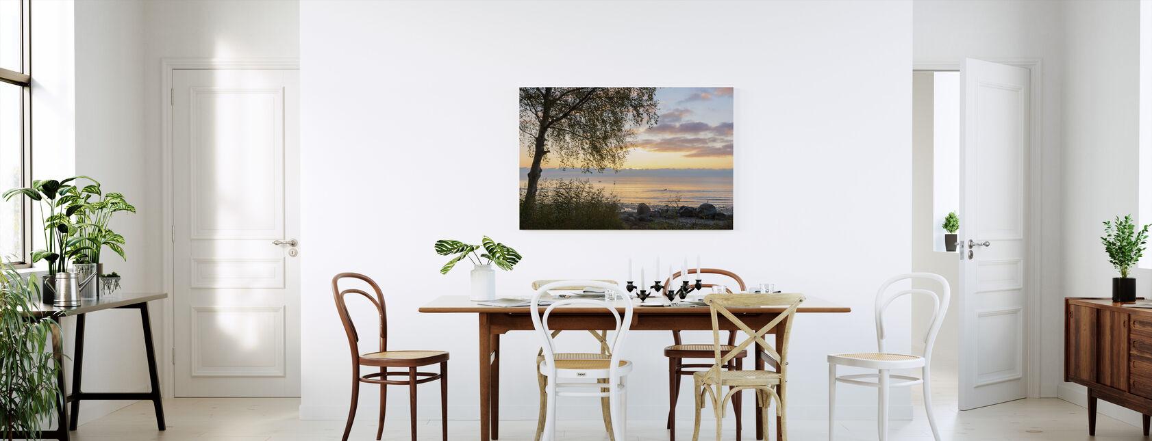 Tree at Sunset - Gotland - Canvas print - Kitchen