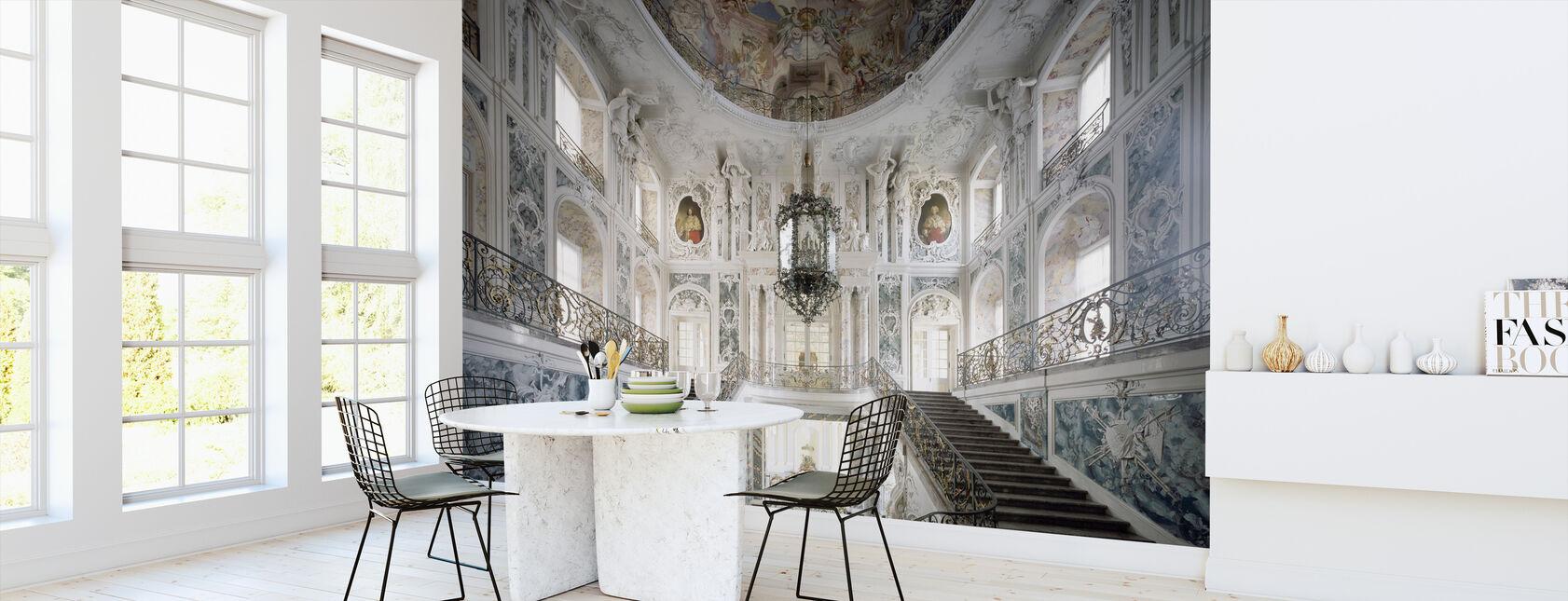 Majestic Stairs - Wallpaper - Kitchen