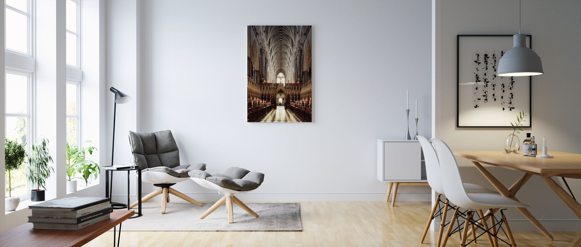 Westminister Abbey - Canvas print - Living Room