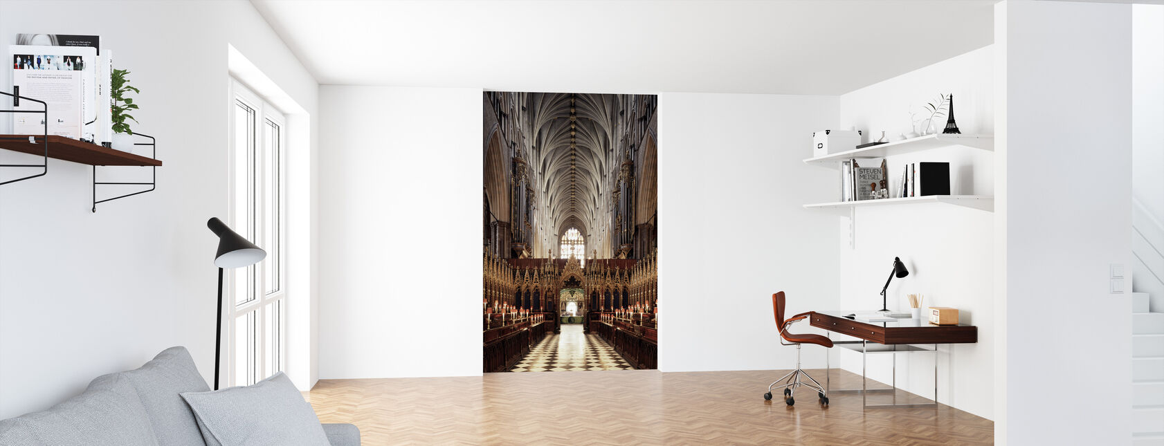 Westminister Abbey - Behang - Kantoor