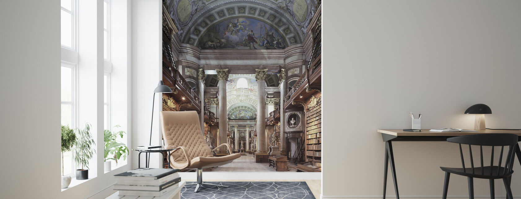 Imperial Library in Wien - Wallpaper - Living Room
