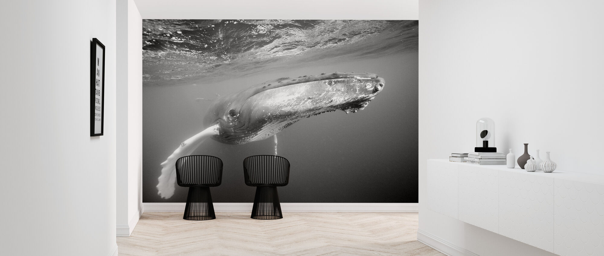 Humpback Whale - Wallpaper - Hallway