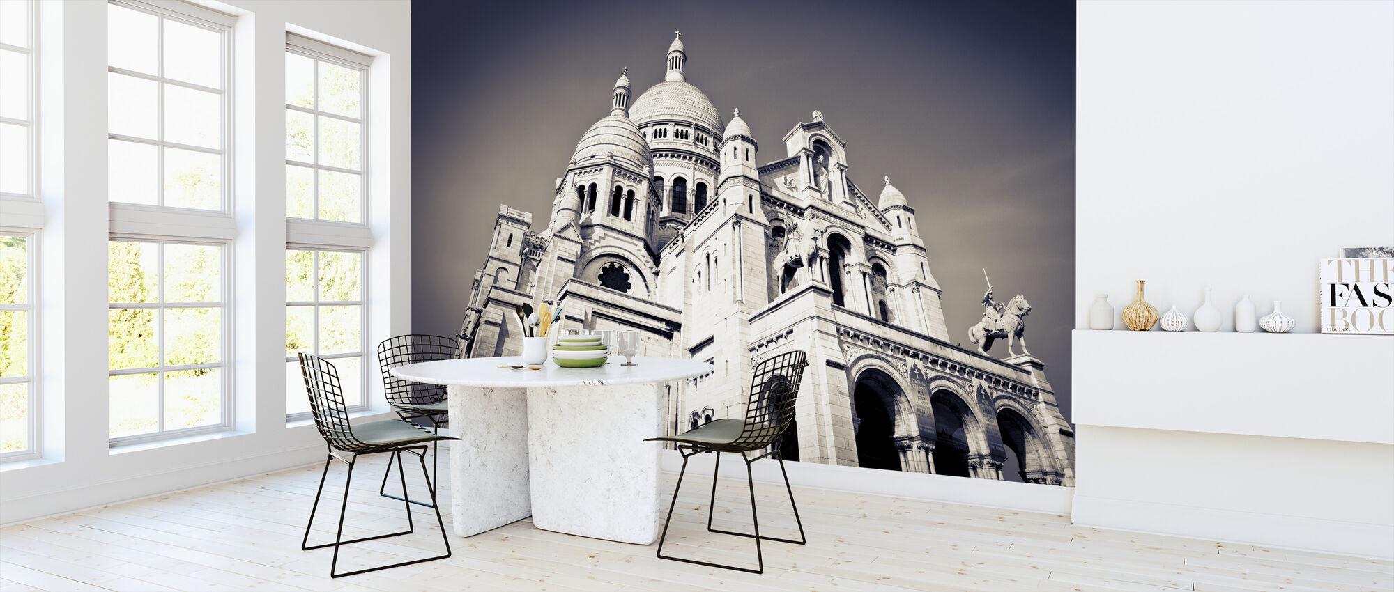 Sacre Coeur Basilica in Montmarte - Wallpaper - Kitchen