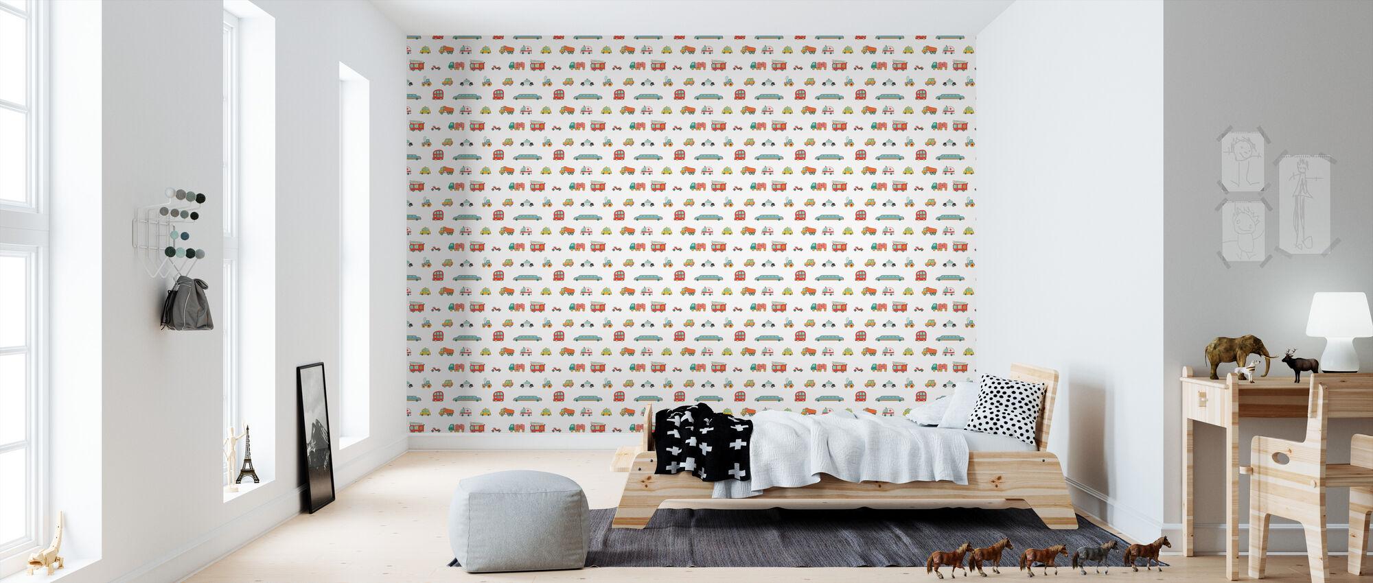 Auto - Wallpaper - Kids Room