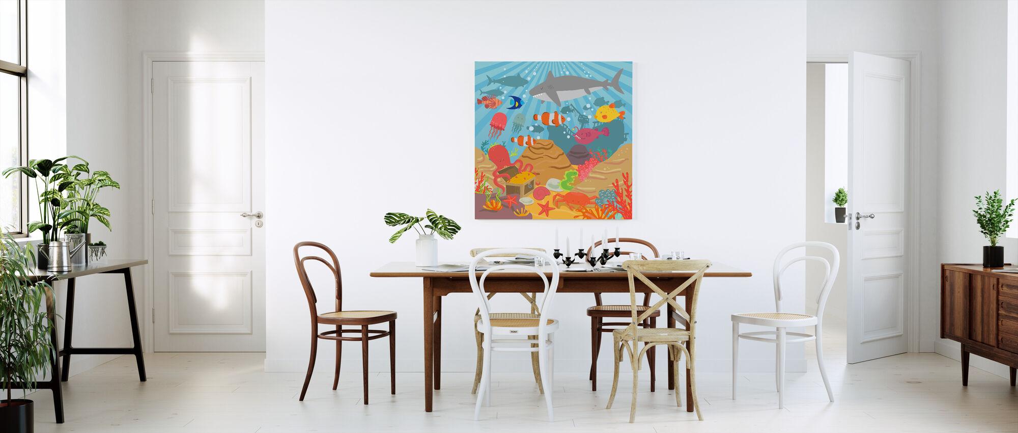 Ocean Adventure - Canvas print - Kitchen