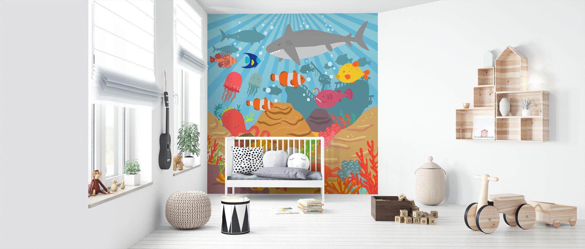 Ocean Adventure - Wallpaper - Nursery