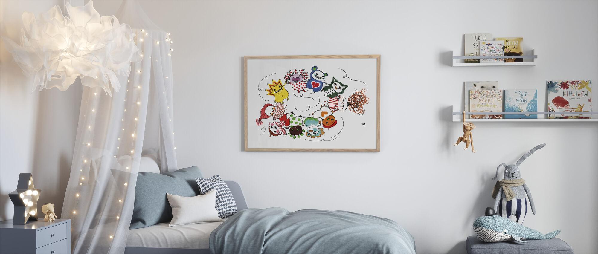 Dansa - Framed print - Kids Room