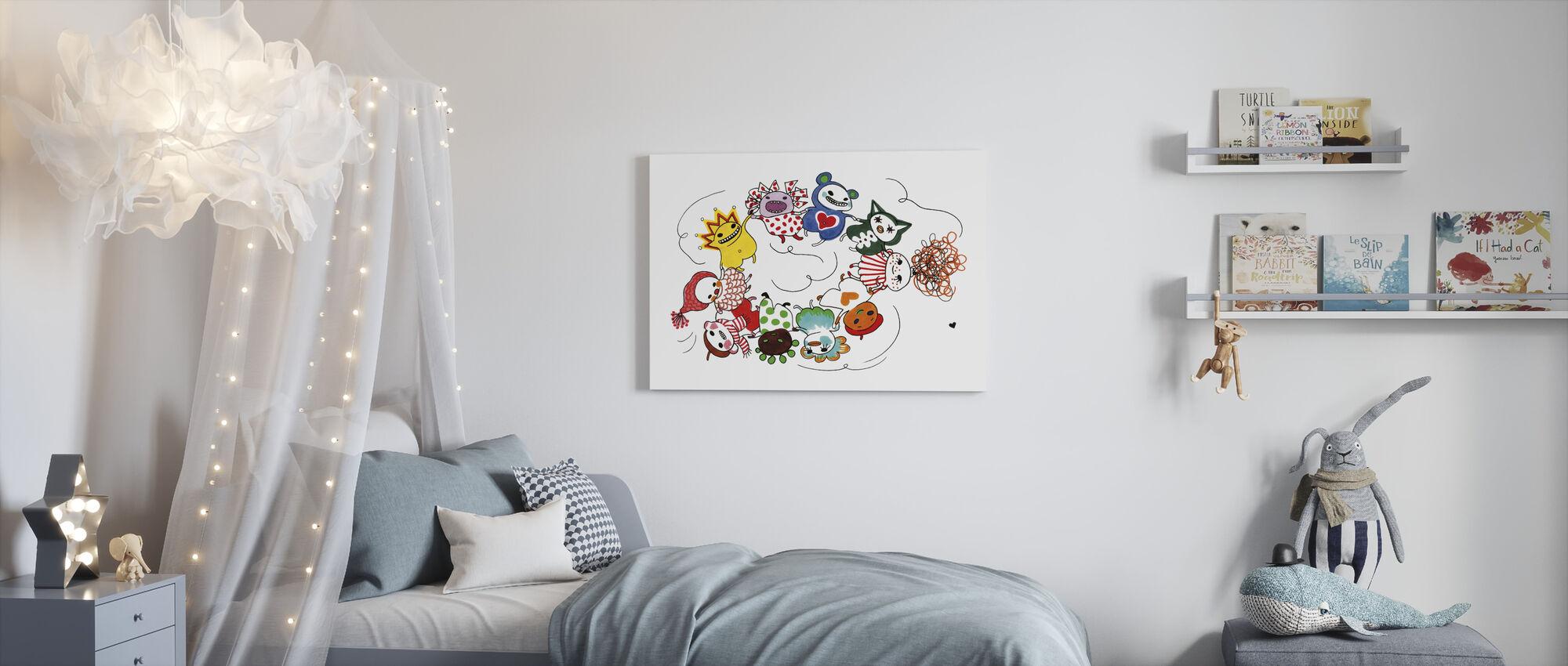Dansa - Canvas print - Kids Room