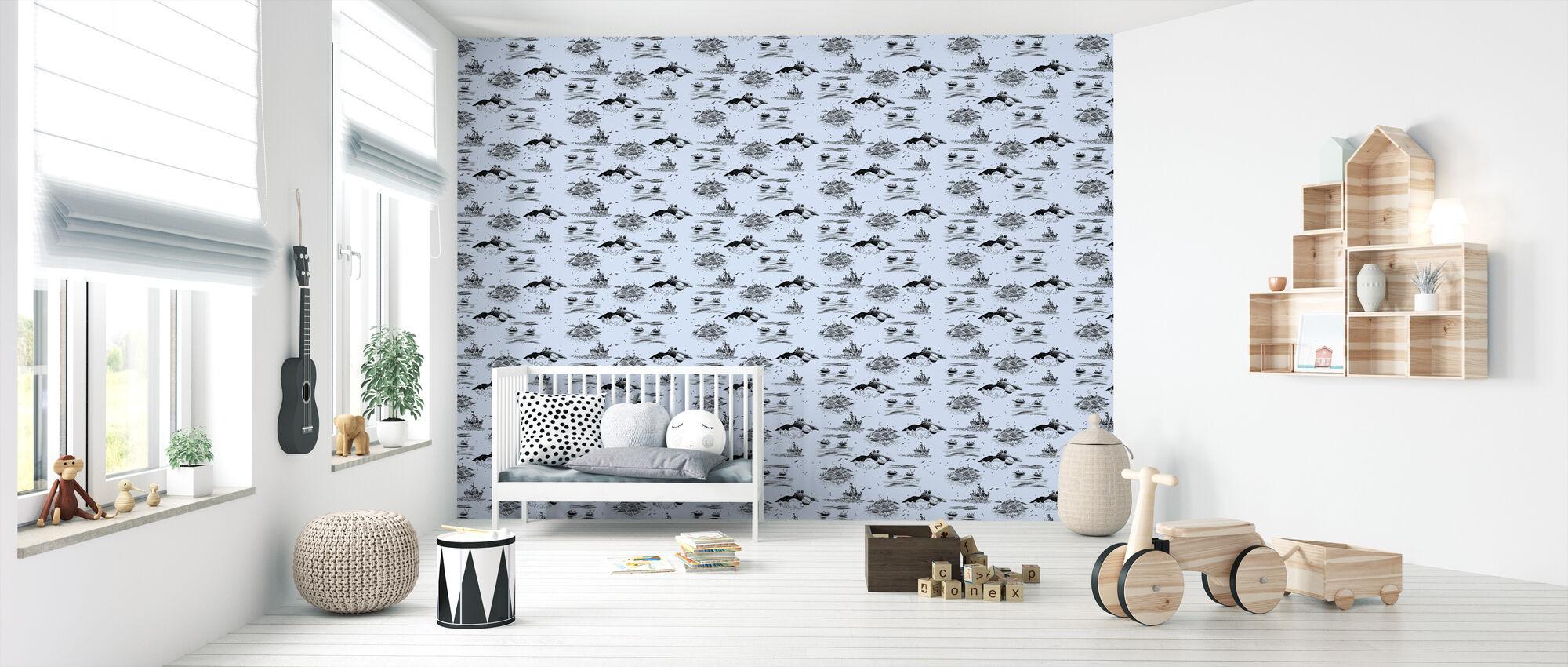 Moomin - At Sea - Wallpaper - Nursery