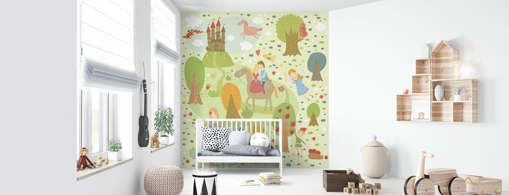 Conte de fées XL - Papier peint - Chambre de bébé