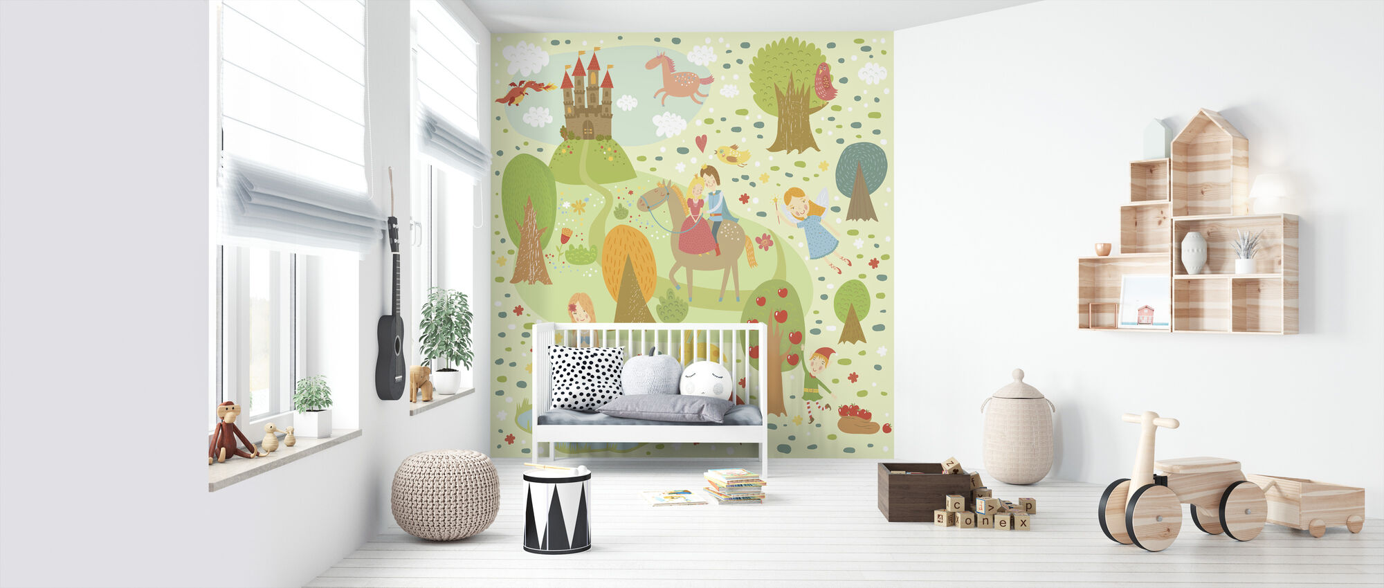 Fairy Tale XL - Wallpaper - Nursery