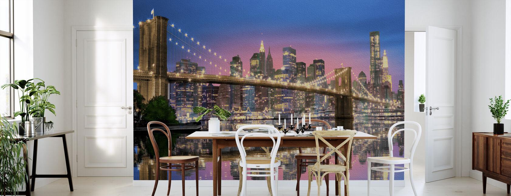 Nueva York - Papel pintado - Cocina