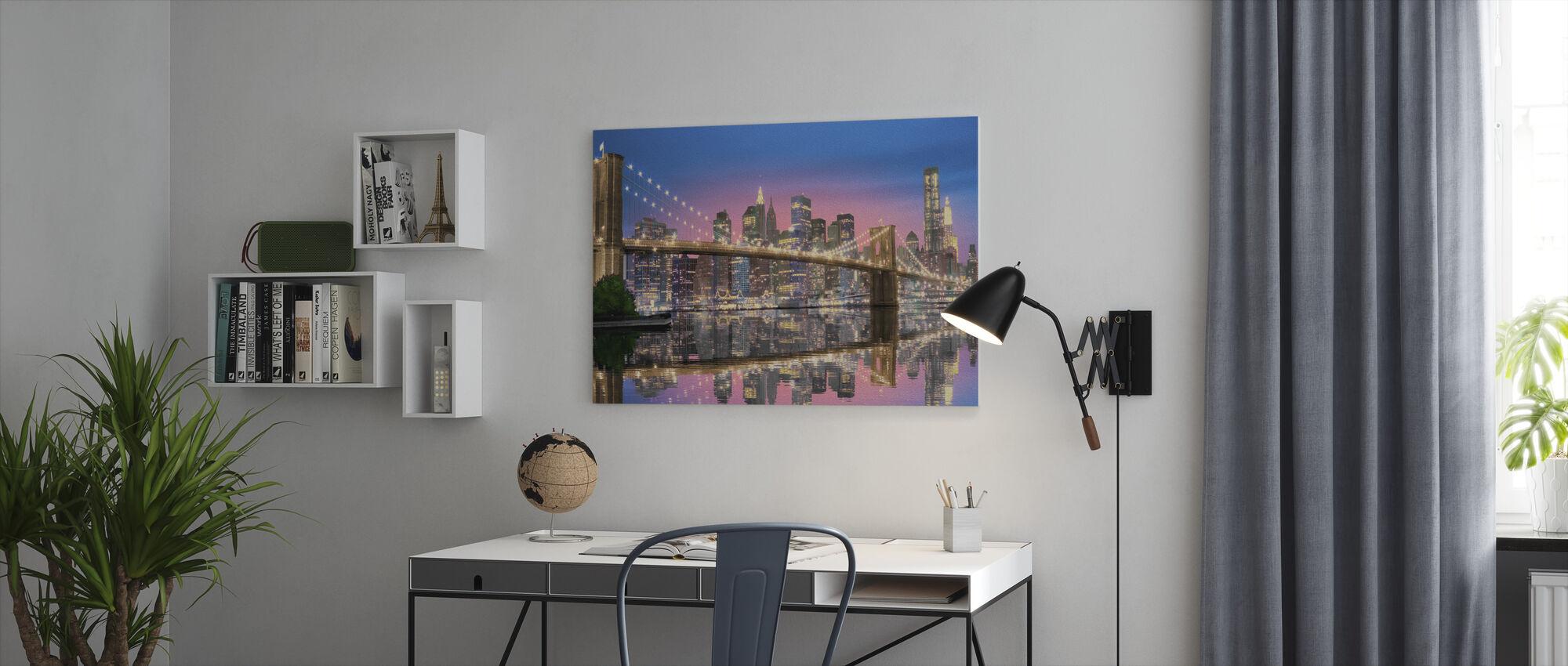 New York City - Canvas print - Kantoor