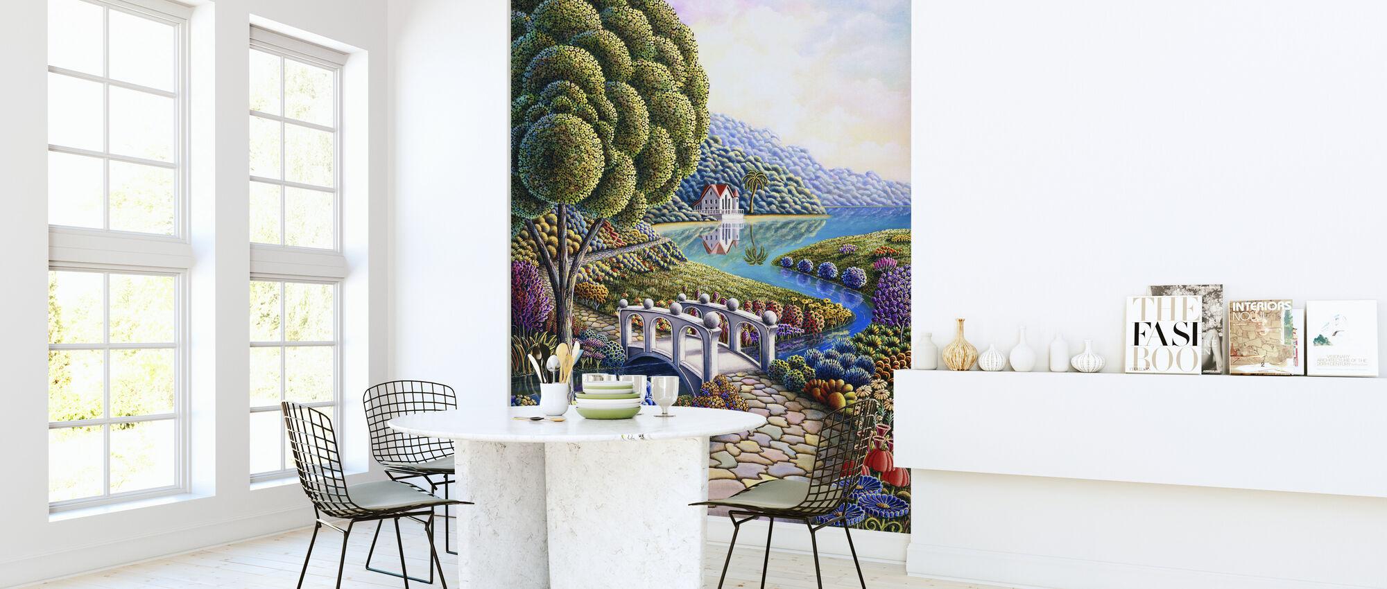 Daffodils - Wallpaper - Kitchen