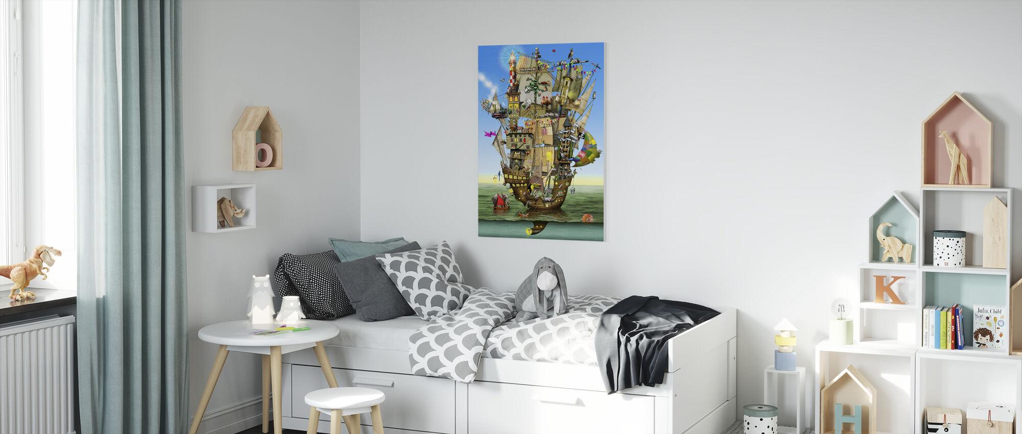Norahs Ark - Canvas print - Kinderkamer