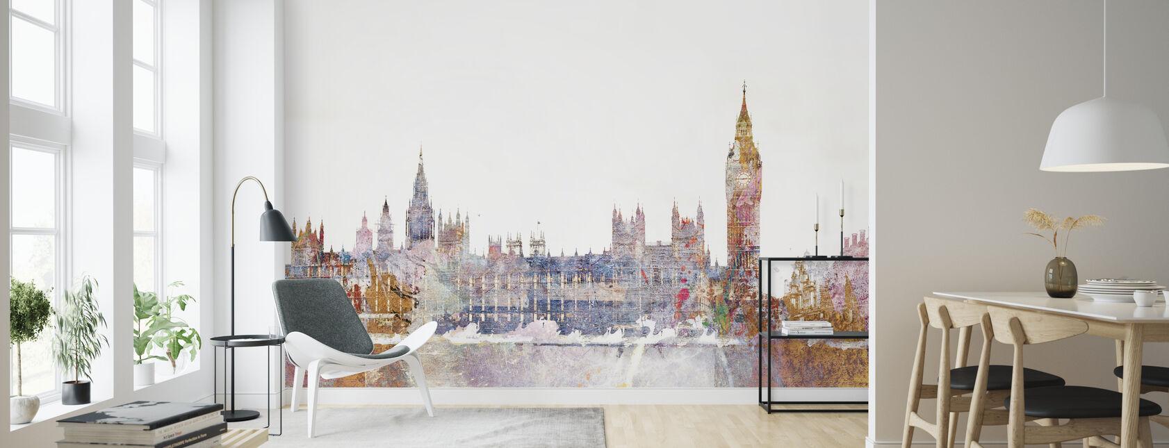 Parliament Color Splash - Wallpaper - Living Room