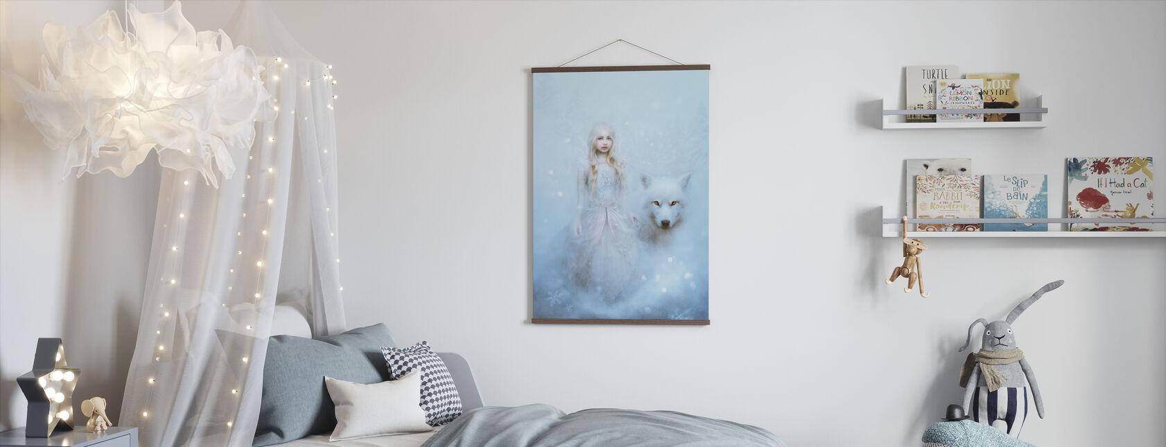 Snö Prinsessan - Poster - Barnrum