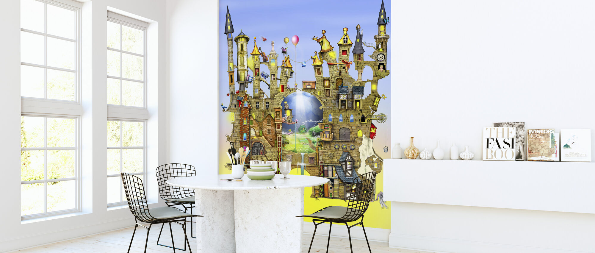 Castles in the Air - Wallpaper - Kitchen