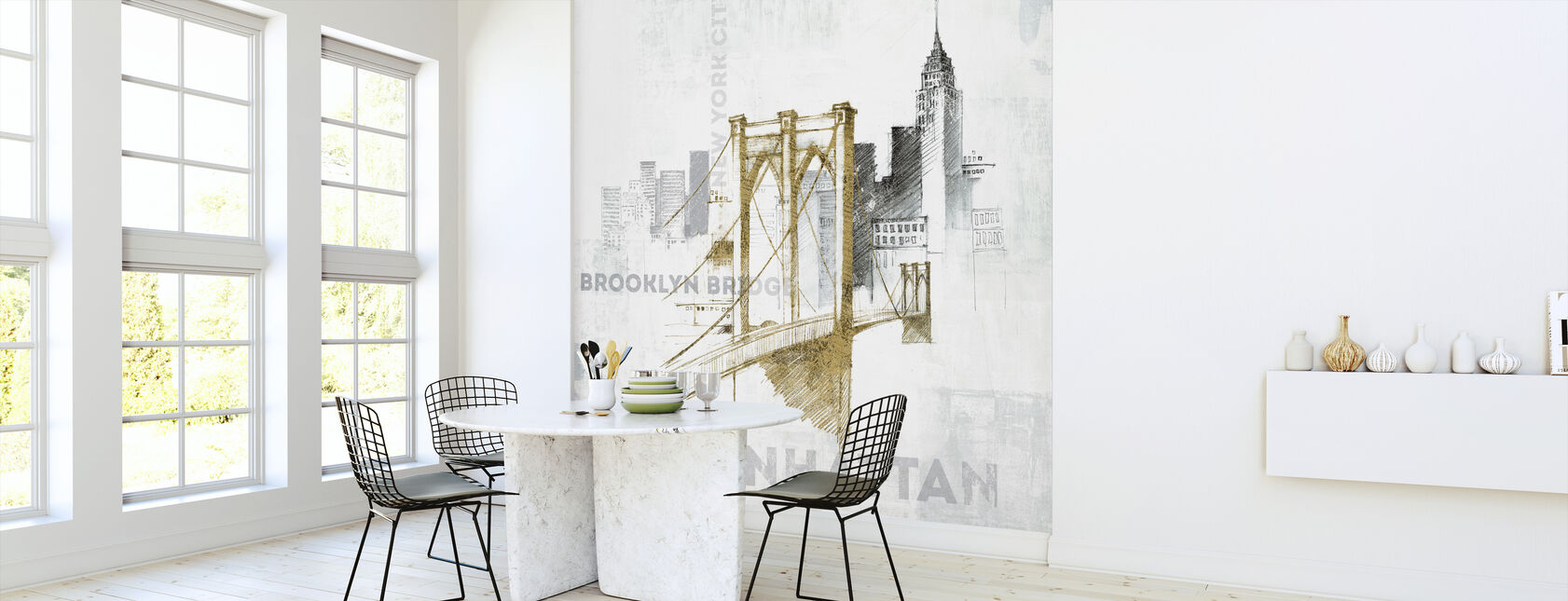 Brooklyn Bridge - Wallpaper - Kitchen