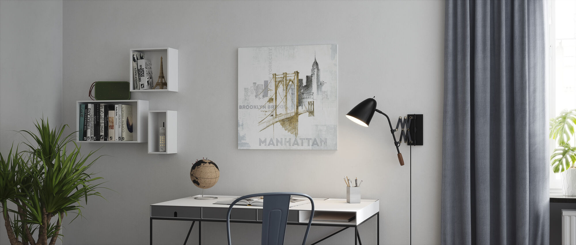 Brooklyn Bridge - Canvas print - Office