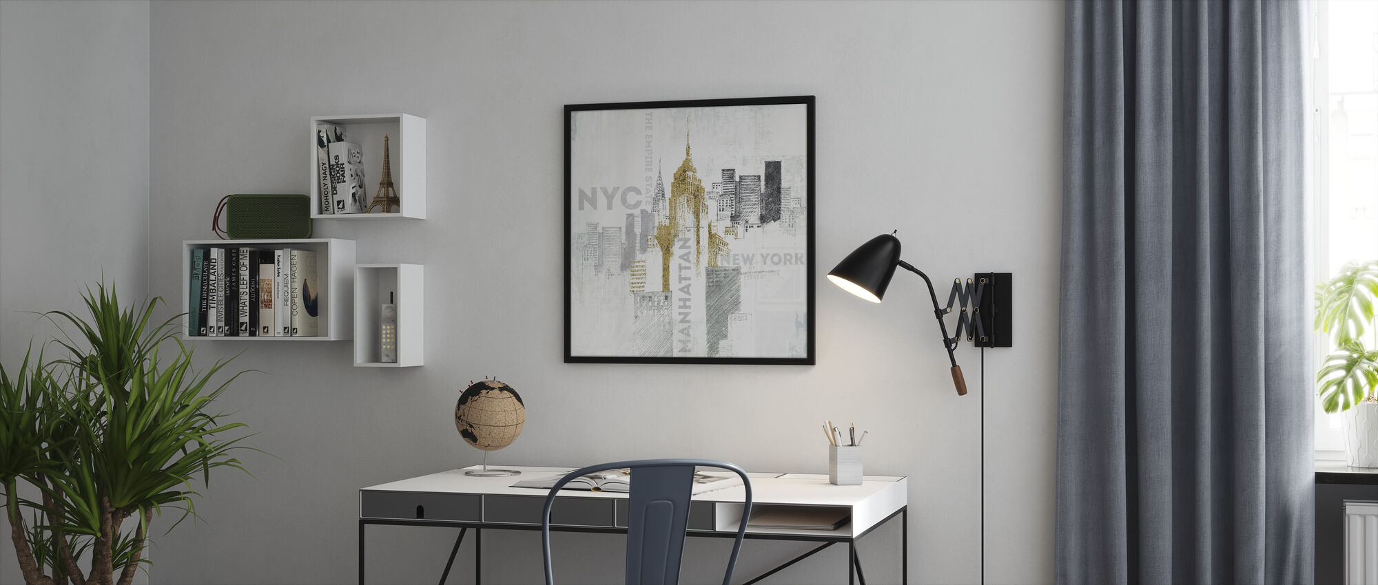 Empire State Building - Framed print - Office