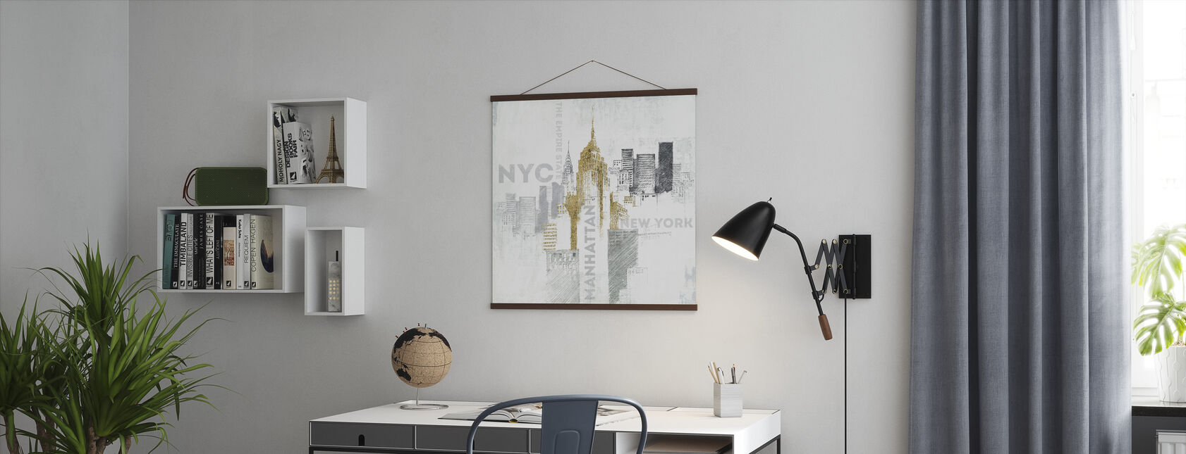 Empire State Building - Poster - Office