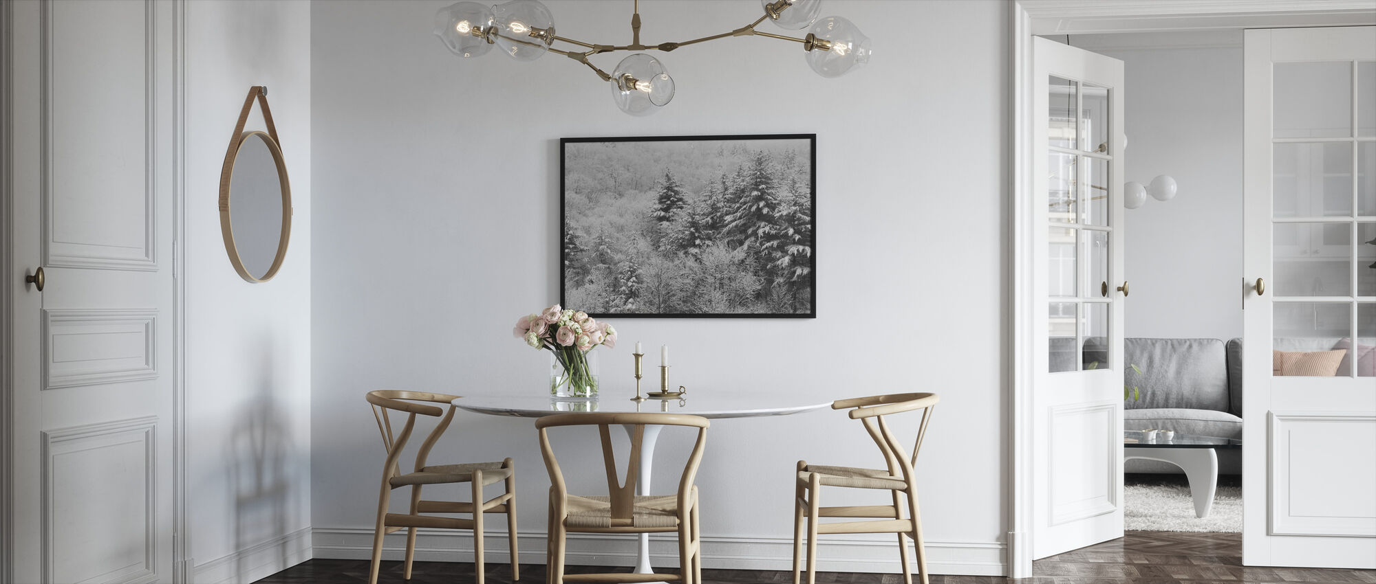 After the Snowstorm - Framed print - Kitchen