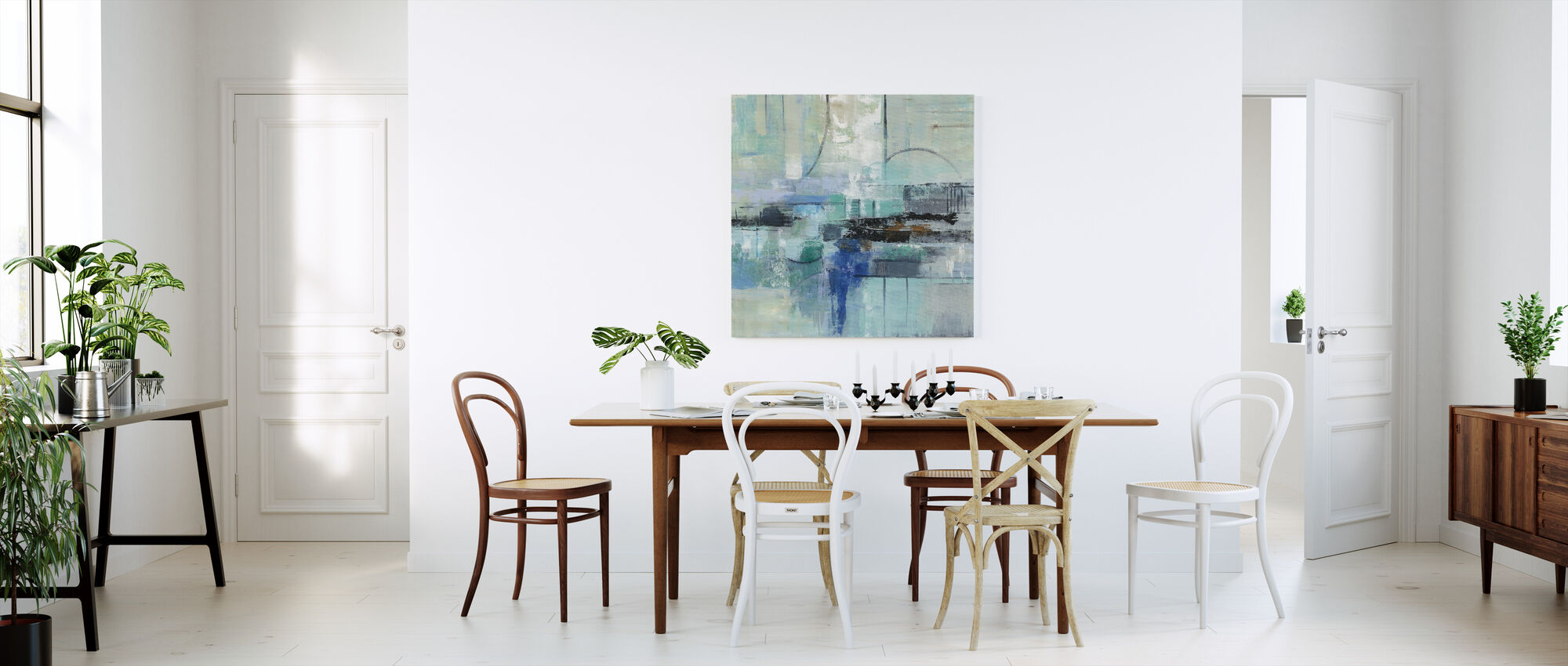 Cool Water - Canvas print - Kitchen