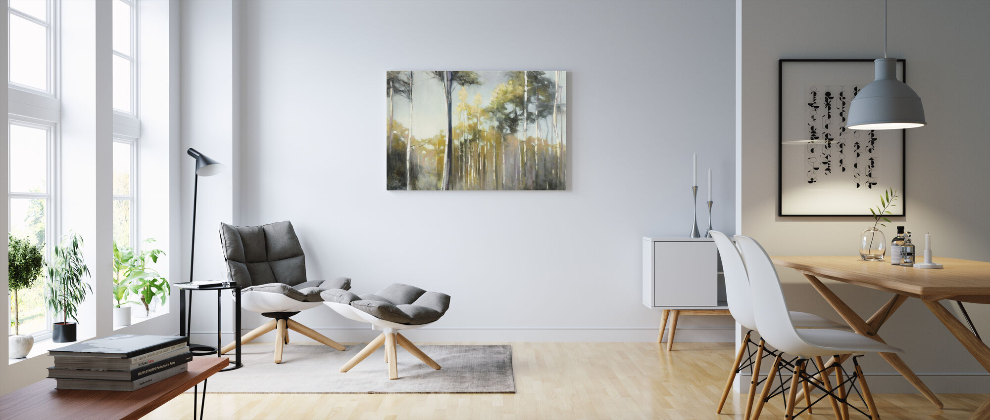 Aspen Reverie - Canvas print - Living Room