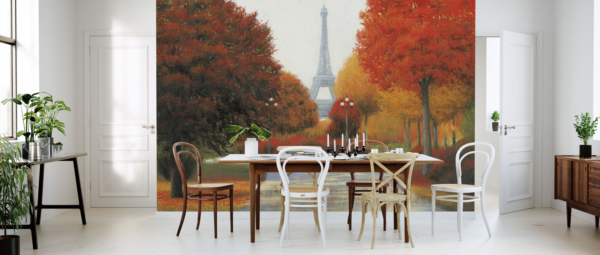 Autumn in Paris - Wallpaper - Kitchen