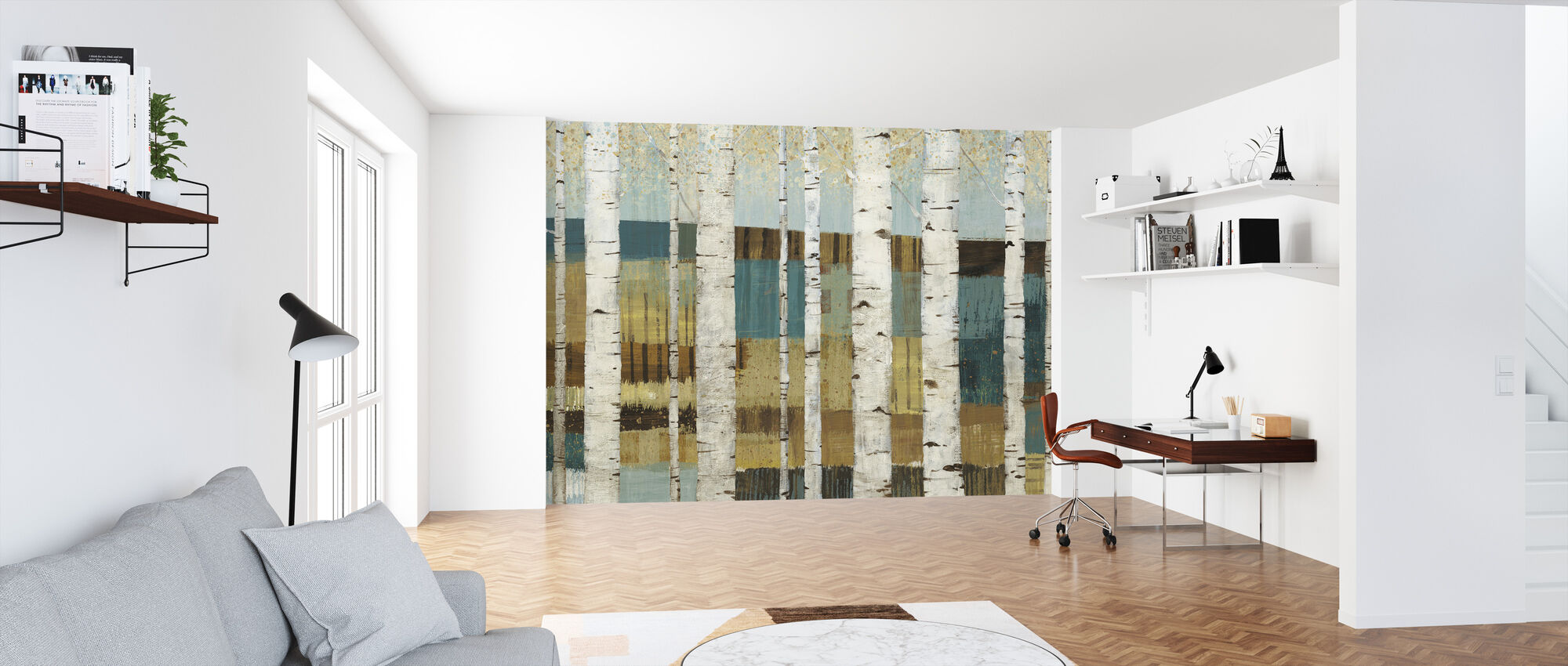 Shimmering Valley - Wallpaper - Office