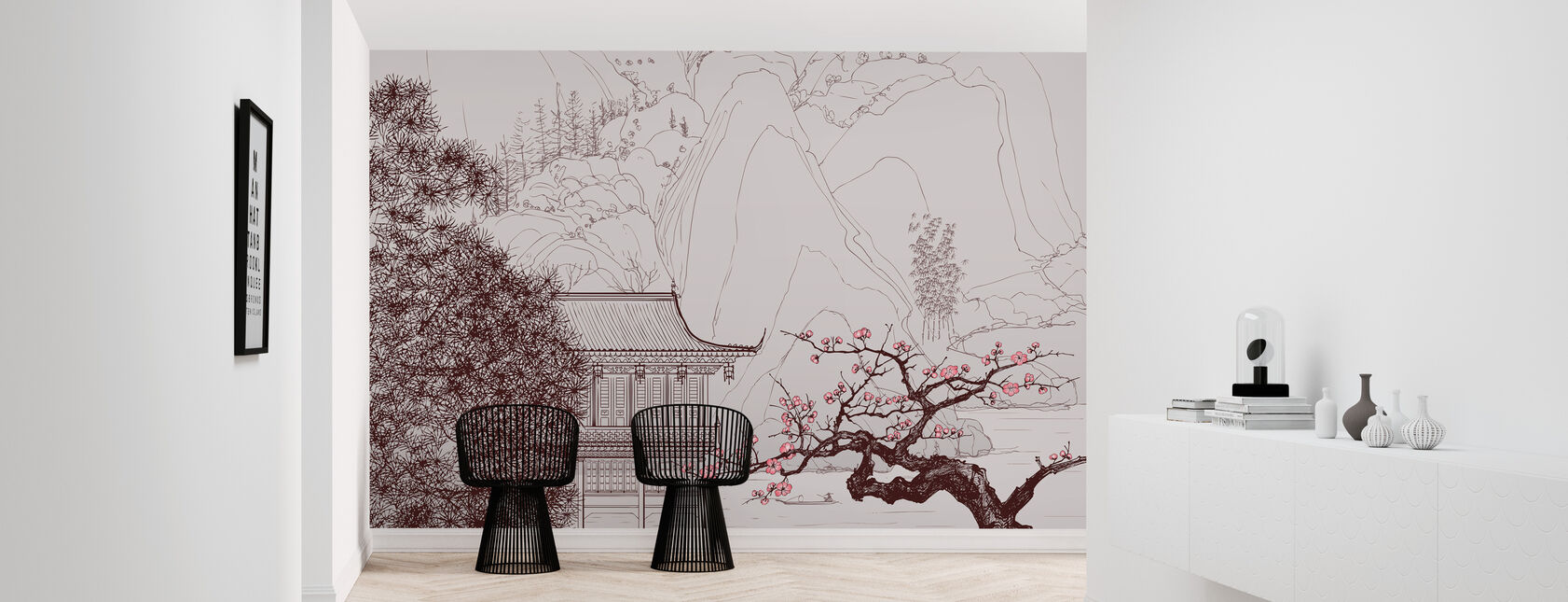 Japanese Cherry Blossom - Wallpaper - Hallway