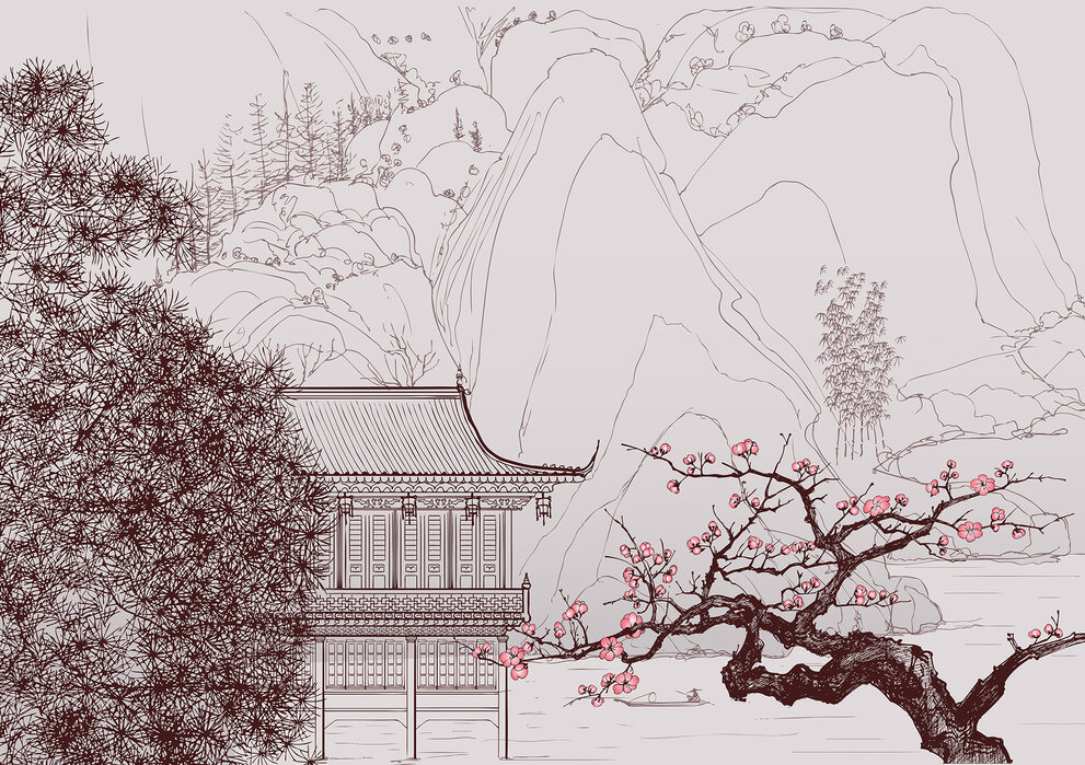 Japanese Cherry Blossom A Wall Mural For Every Room Photowall