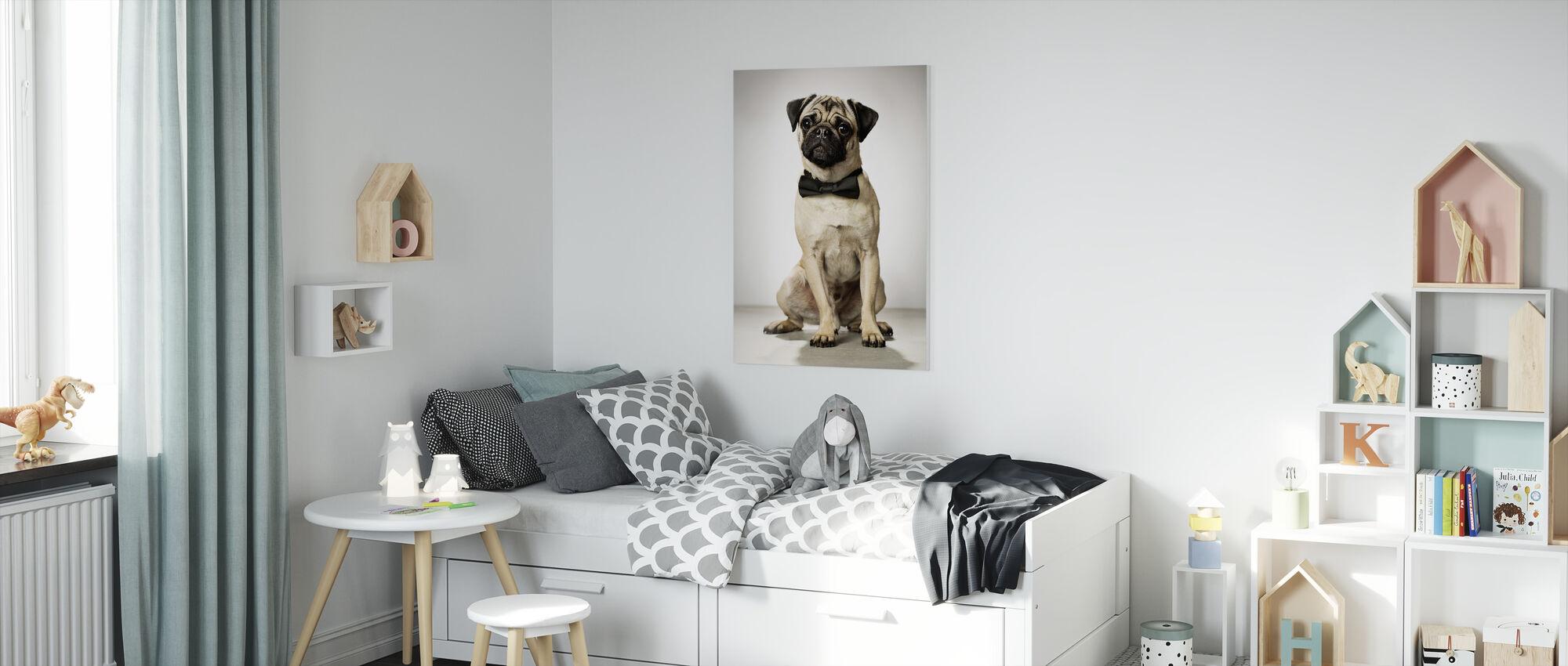 Portrait of a Gentleman - Canvas print - Kids Room