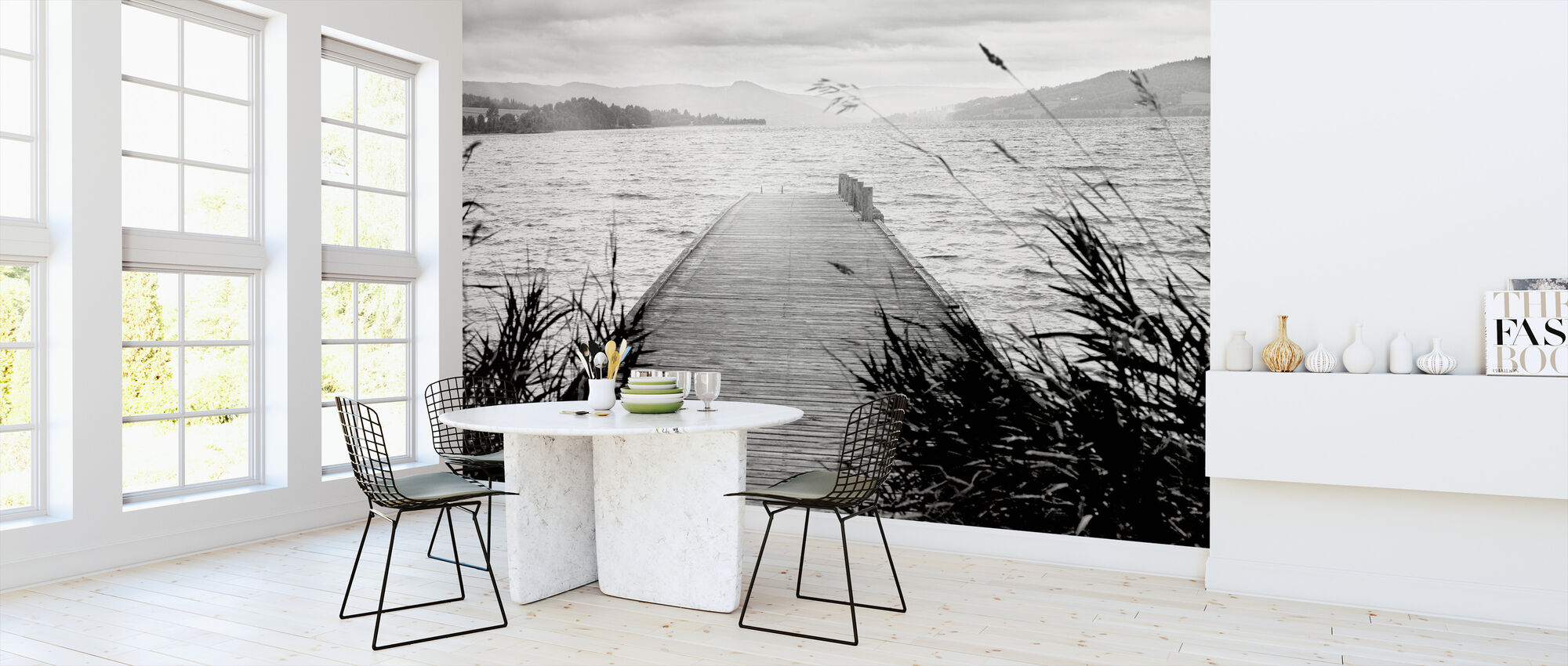 Pier on Hadeland - Wallpaper - Kitchen